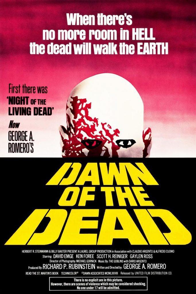 cartel de la película de zombies