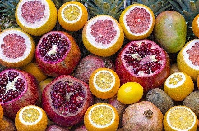 cítricos de colores: alimentos indispensables para el cuidado de tu piel