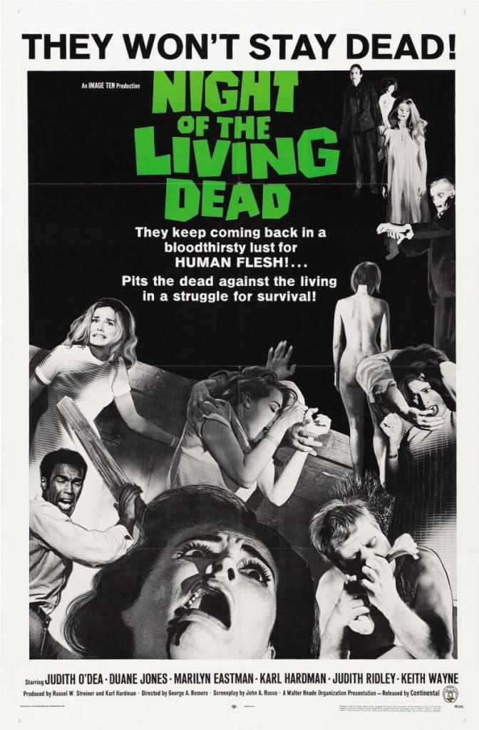 la primera de las películas de zombies de todos los tiempos