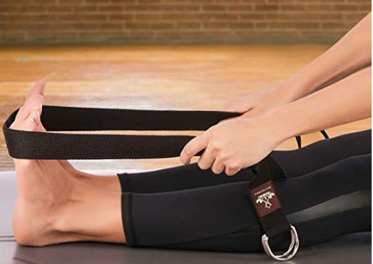 correa para hacer yoga de amazon