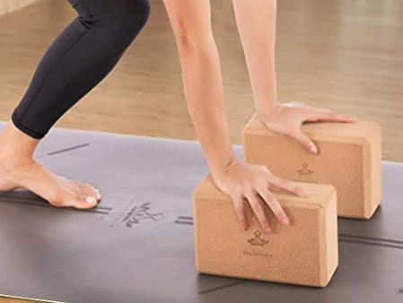 bloques para hacer yoga de amazon