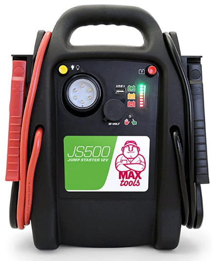 cargador y arrancador para automóviles marca maxtool para extender su vida útil