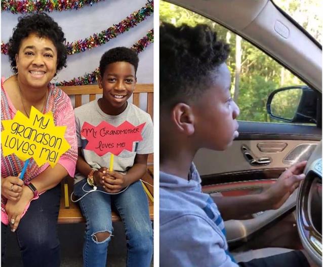 el niño que decidió salvar a su abuela llevándola a un hospital conduciendo un coche