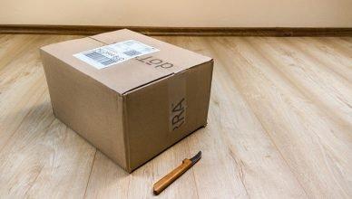 caja enbalada