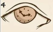 ojo con reloj ocular