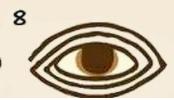 ojo al estilo egipcio