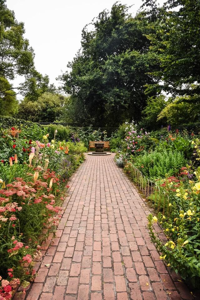 estructura formal de la jardinería paisajística
