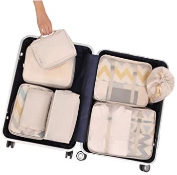 accesorios para organizar mejor tus pertenencias en una maleta para hacer tu viaje