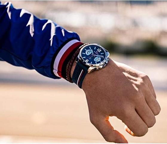 elegante reloj de Tommy Hilfinger para marcar un estilo elegante y atrevido
