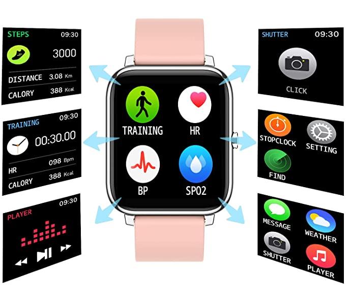 reloj smarthwatch que calcula tu ritmo cardíaco y la calidad de tu sueño