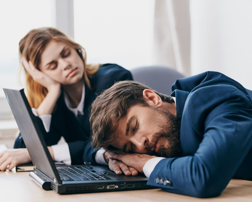 agotamiento por el síndrome de Burnout