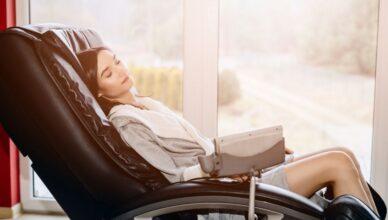 sillón masajeador